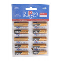 Nippo Gold AA Battery, 1pc