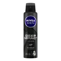 Nivea Men Deep Impact Freshness Deodorant Spray - For Men, 150 ml