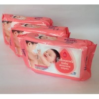 Johnson's Baby Skin Carewipes 80 Cloth Wipes - Buy 2 & Get Rs 60 OFF/ - Limited Period Offer
