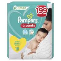 Pampers Pants New Baby, 18pants