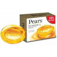 Pears Pure & Gentle Soap, 75g + 25g