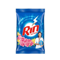 Rin Refresh Lemon & Rose Detergent Powder, 1kg