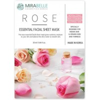 Mirabelle Rose Facial Sheet Mask, 1Nos