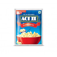 Act II Instant Salted Popcorn,  60g
