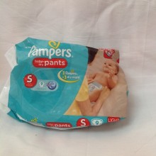 Pampers Baby Dry pants - S 4-8kg - 8 pants