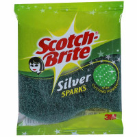 Scotch Brite Silver Sparks Scrub Pad, 1pc
