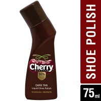 Cherry Blossom Dark Tan Liquid Shoe Polish,75ml