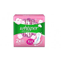 Whisper Ultra Soft XL+, 15pads