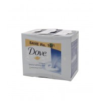 Dove White Cream Bar Soap 3 x 100g - Save Rs 10
