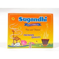 Sugandhi Cup Sambrani Big, 12pcs
