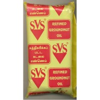 SVS Groundnut Oil Yellow 1litre