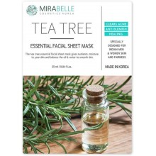Mirabelle Tea Tree Facial Sheet Mask,1Nos