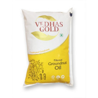 Vedhas Gold Groundnut Oil,1Ltr