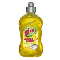 Vim Concentrated Gel Dishwash Bottle, 250ml