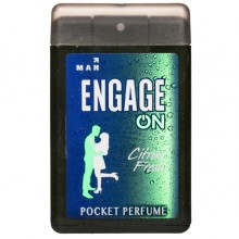 Engage Man Pocket Perfume, Citrus Fresh, 18ml