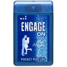 Engage Man Pocket Perfume, Cool Marine, 18ml