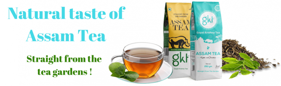 Garden Fresh Assam Tea!