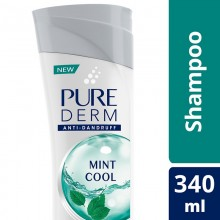 Pure Derm Mint Cool Anti - Dandruff Shampoo, 180ml